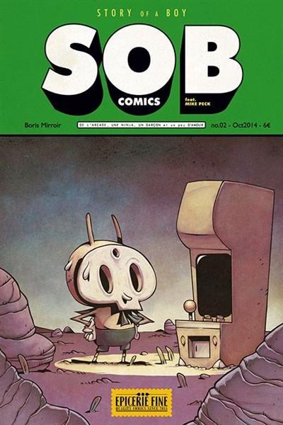 SOB comics. Volume 2, Story of a boy