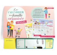 Le calendrier de la famille organisée
