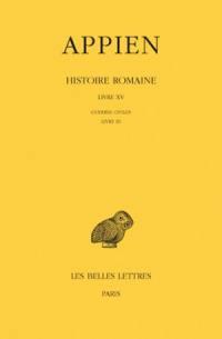 Histoire romaine. Volume 10, Livre XV : Guerres civiles, Livre III