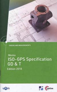 Memo ISO-GPS specification GD & T