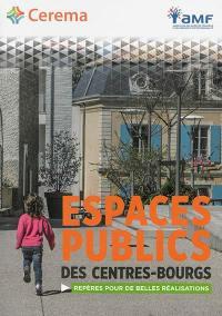 Espaces publics des centres-bourgs