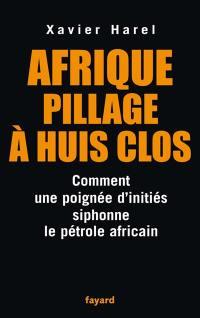 Afrique, pillage à huis clos