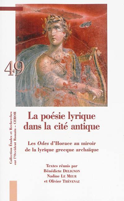 La poésie lyrique dans la cité antique