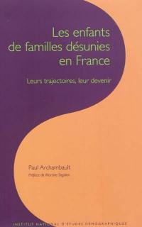 Les enfants de familles désunies en France