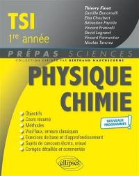 Physique chimie TSI 1re année
