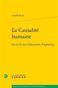 La causalité humaine