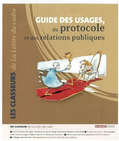 Guide des usages, du protocole et des relations publiques