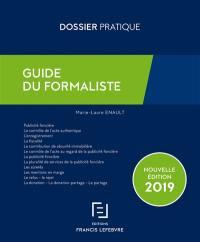 Guide du formaliste 2019