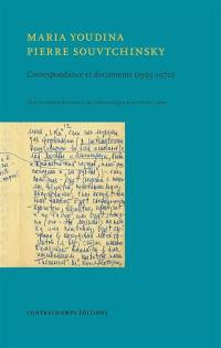 Correspondance et documents (1959-1970)