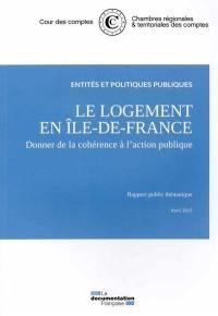 Le logement en Ile-de-France