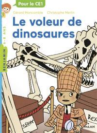 Les enquêtes fabuleuses du fameux Félix File-Filou, Le voleur de dinosaures