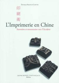 L'imprimerie en Chine