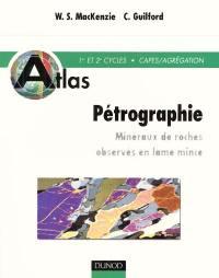 Atlas de pétrographie