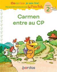 Carmen entre au CP
