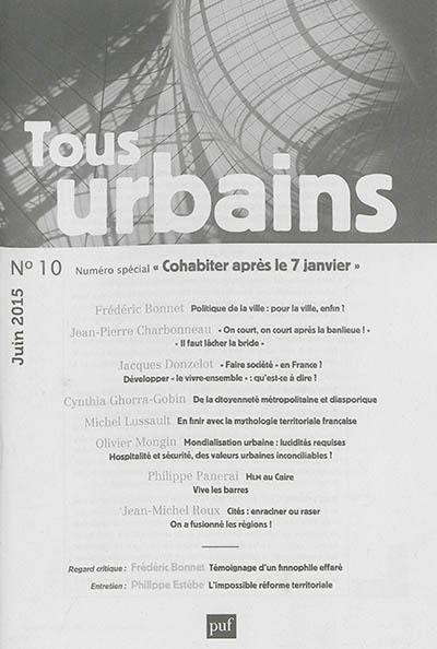 Tous urbains, Cohabiter après le 7 janvier