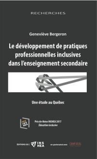 Le développement de pratiques professionnelles inclusives dans l'enseignement secondaire