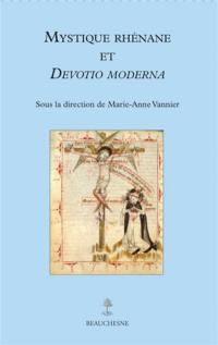 Mystique rhénane et Devotio moderna