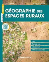 Géographie des espaces ruraux