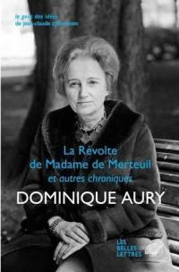 La révolte de madame de Merteuil