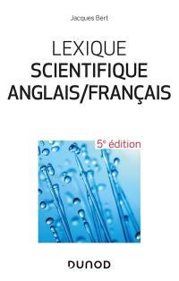 Lexique scientifique anglais-français