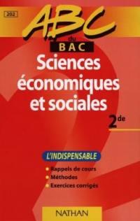 Sciences économiques et sociales, 2e