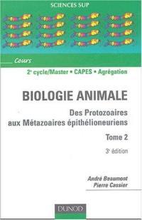 Animale biologie. Volume 2,