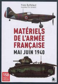 Matériels de l'armée française