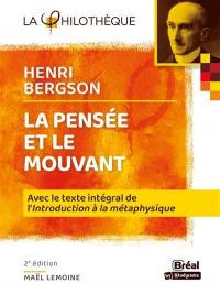 La pensée et le mouvant, Henri Bergson