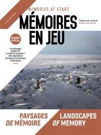 Mémoires en jeu = Memories at stake. n° 11, Paysages de mémoire