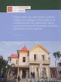 Préservation du patrimoine culturel