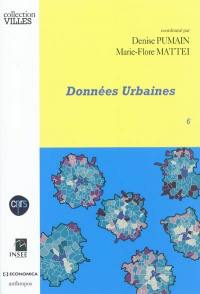 Données urbaines. Volume 6,