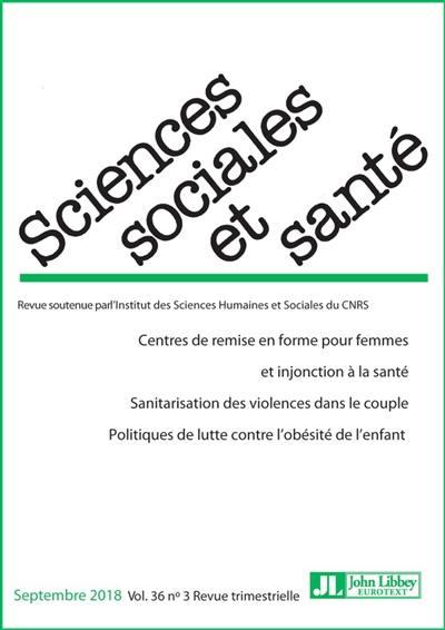 Sciences sociales et santé. n° 3 (2018), Centre de remise en forme pour femmes et injonction à la santé