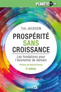 Prospérité sans croissance