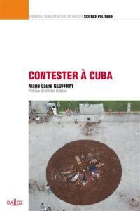 Contester à Cuba