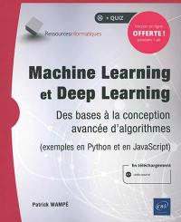 Machine learning et deep learning