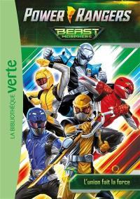 Power Rangers : Beast Morphers. Vol. 2. L'union fait la force