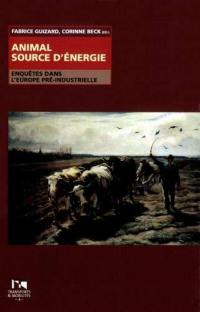 Animal source d'énergie
