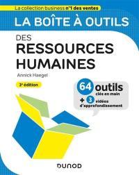 La boîte à outils des ressources humaines