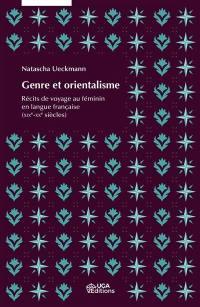 Genre et orientalisme