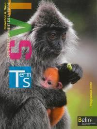 SVT, sciences de la vie et de la terre, Terminale S : programme 2012