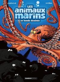 Les animaux marins en bande dessinée. Volume 2,