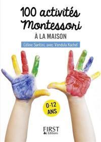100 activités Montessori à la maison