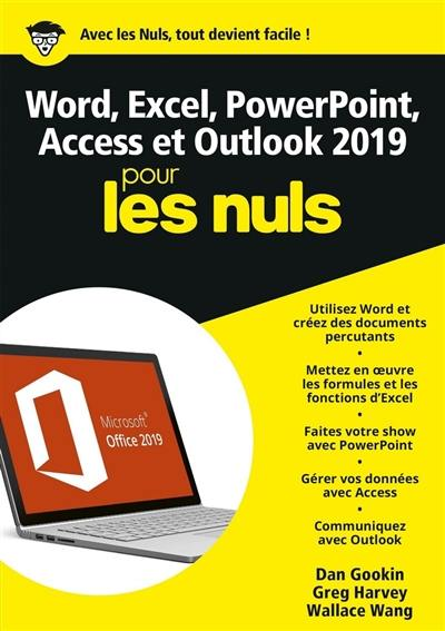 Word, Excel, PowerPoint & Outlook 2019 pour les nuls