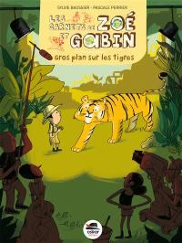 Les carnets de Zoé et Gabin, Gros plan sur les tigres