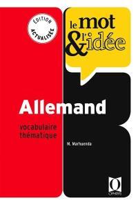 Le mot & l'idée, allemand