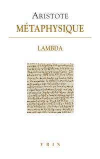 Métaphysique, Livre lambda