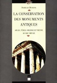 La conservation des monuments antiques