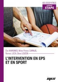 L'intervention en EPS et en sport