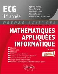 Mathématiques appliquées informatique, ECG 1re année