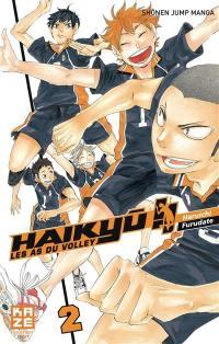 Haikyu !!. Volume 2, La vue du sommet